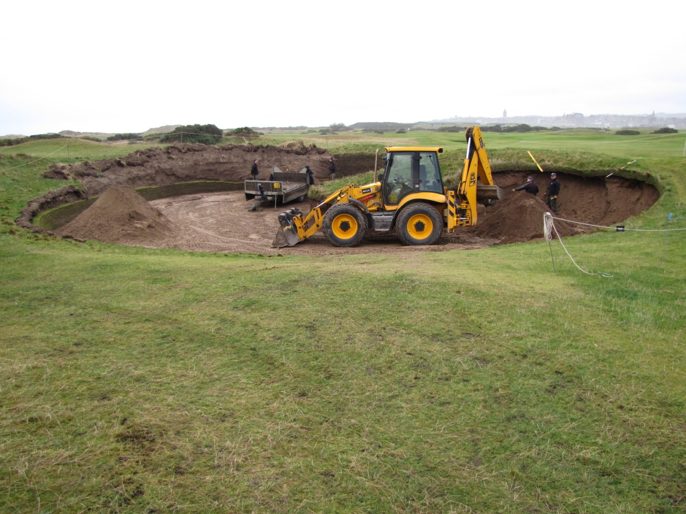 Rebuilding Hell Bunker - St Andrews Links Blog