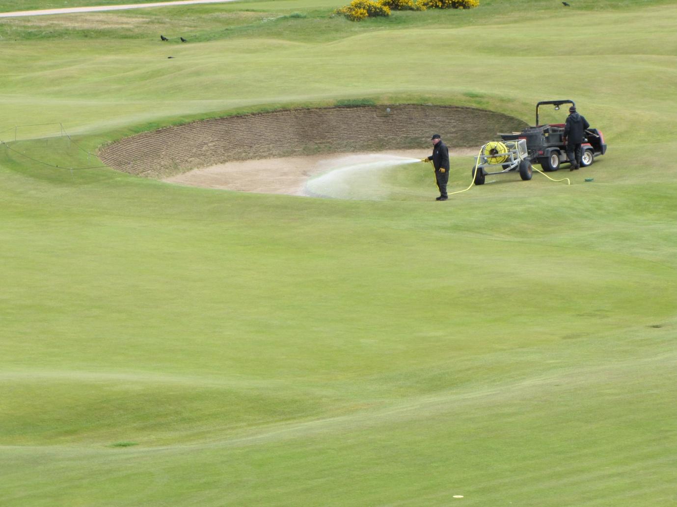 Guide to bunker maintenance - St Andrews Links Blog
