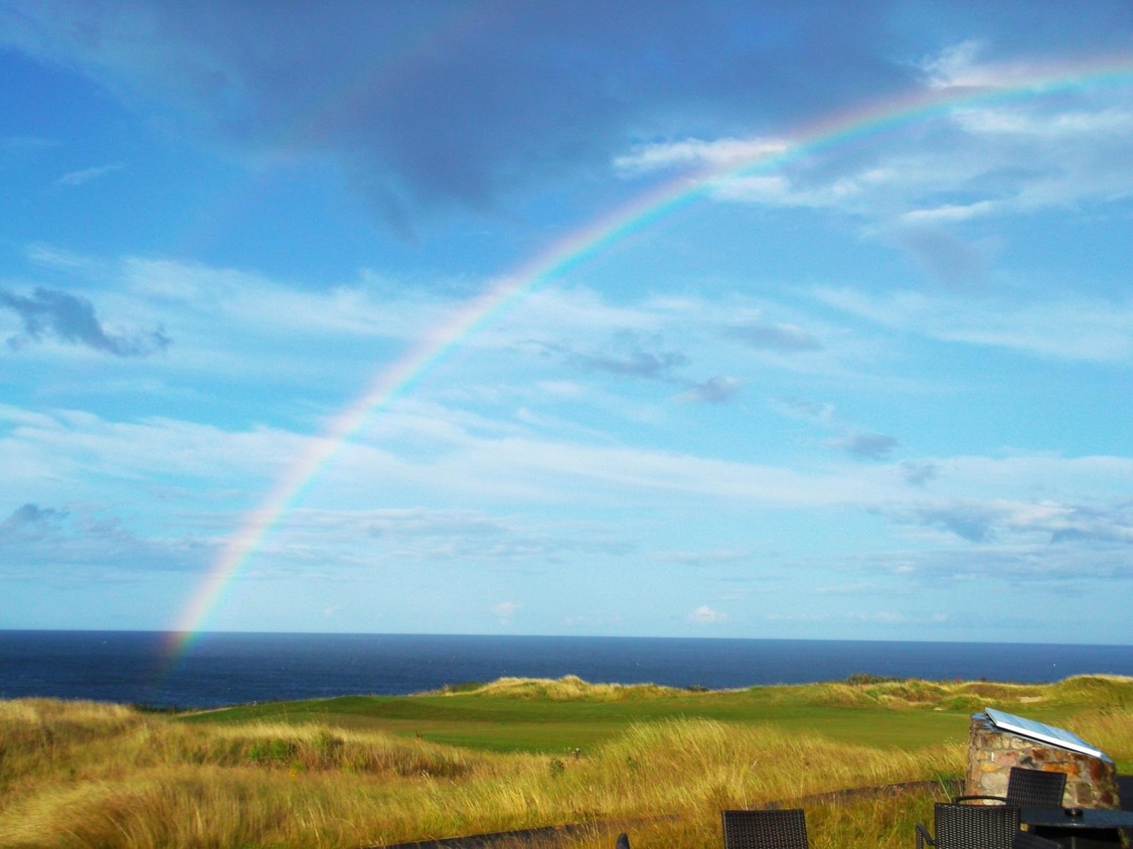 castle rainbow